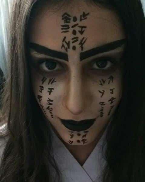 Yuz Boyama Ve Yaslandirma Maske Calismalari